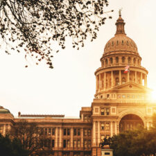 Texas capitol in Austin, laws
