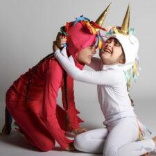 Unicorn costumes, photo courtesy of The Tot